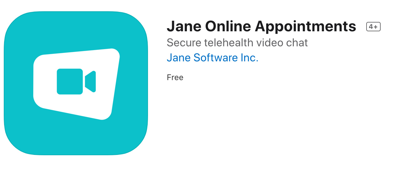 Jane online appointment app